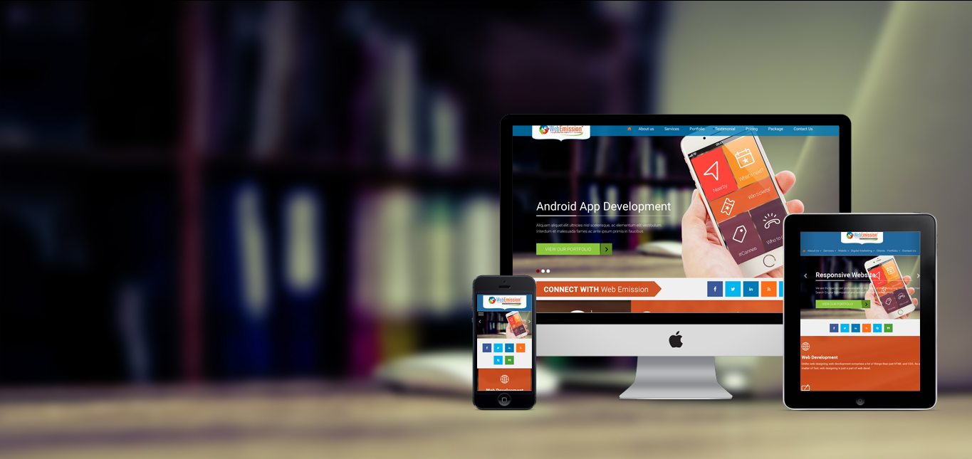 Website Development, Mobile App Development, ERP Software Solutions in Dhanbad | Web Emission